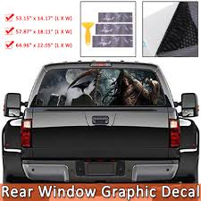 Rear Window Graphic Decal Sticker For Car Truck Suv Grim Pick Up ... Tampa Fl Mobile Advertising Rear Window Truck Graphics For Ford Graphic Decal Sticker Decals Custom For Cars Best Resource Realtree Camo 657332 Related Keywords Suggestions Stairway To Heaven Nw Sign Solutions See Through Perforation Fort Lauderdale American Flag Better Elegant Vuscape Made In Michigan Chevy Fire Car Suv Grim Pick Up
