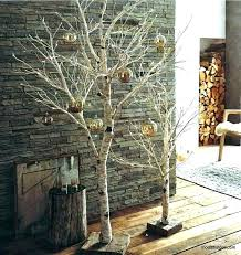 Birch Tree Branch Decor A Photo Shows How Branches Are Used In Christmas