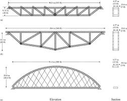 104 Bowstring Truss Design New Bridge Forms Composed Of Modular Bridge Panels Journal Of Bridge Engineering Vol 21 No 4