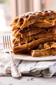 Pumpkin Pancakes W Bisquick by Simple Pumpkin Waffles Recipe Savory Nothings