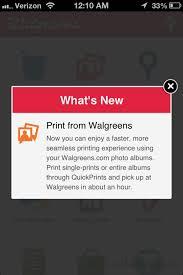 Walgreens app photos shop
