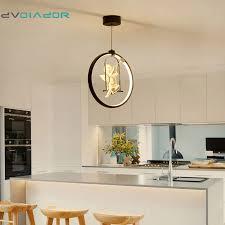 dvolador 3 farben einstellbare led pendelleuchte nordic amerikanischen landhausstil kreative schlafzimmer wohnzimmer licht ac220v dezember