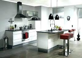 cuisine am駻icaine avec ilot central modale de cuisine ouverte cuisine americaine avec ilot modele