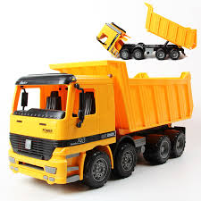 100 Large Dump Trucks Vehicles Boy 122 Simulation Truck Sandy Beach Childrens Favorite Toy Inertia Car Pull Back Model Kids Gift Toys