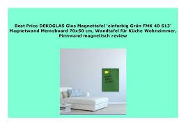 sell dekoglas glas magnettafel einfarbig gr n fmk 40 613