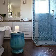 white and blue mosaic tiles design ideas