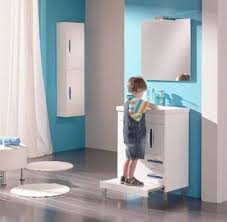 Kids Bathroom Design Cool Blue Kids Bathroom Design Ideas Best ... Vintage Bathroom With Blue Vanity And Gold Hdware Details Kids Bathroom Ideas Unique Sets For Kid Friendly Small Interiors For Blue To Inspire Your Remodel Ideas Deluxe Little Boys Design Youll Love Photos Cute Luxury Uni 24 Norwin Home Decorations Bedroom White Wall Paint Marble Glamorous Awesome 80 Best Gallery Of Stylish Large 23 Brighten Up Childrens Commercial Pink Modern Very Sink