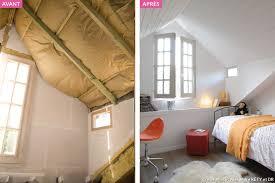 chambre dans comble aménagement combles chambre sous les toits maison créative