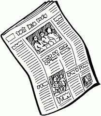 Newspaper Clipart Tumblr Transparent World Of Label Read