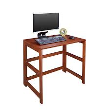 Sauder Beginnings Computer Desk by Sauder Beginnings Cinnamon Cherry Desk With Storage 408726 The
