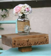 Wedding Cake Stand Wood Platform 14 Love Is Sweet
