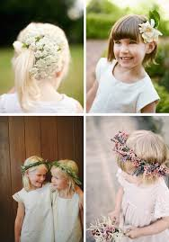 Floral Crowns And Flower Girl Headpieces