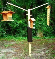 Bird feeder pole and bird feeder binations save up to 80