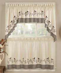 Annas Linens Curtain Panels by Kitchen Curtains Tiers Swags Valances Lace Kitchen Curtains