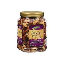 Planters Deluxe Mixed Nuts with Sea Salt 40 oz Bring It