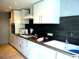 credence pour cuisine modele cuisine blanc laque la cuisine blanche et bois en 102 s