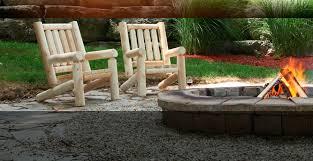 Outdoor Log Furniture Unusual Design Furniture Idea