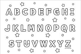 28 ABC Coloring Pages Uncategorized Printable