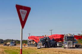100 Texas Trucking Two Million Pound Load Gets Stuck In Ditch Shutting Down Highway
