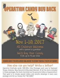 Operation Gratitude Halloween Candy by Halloween Candy Buy Back Practice Cafe Dental Marketing