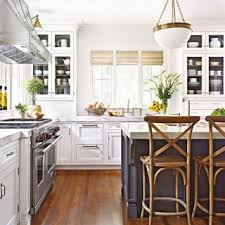 Galley Kitchen With Narrow Island Featured Categories Compact Small