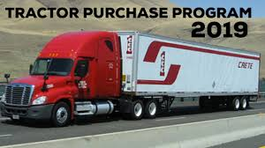 100 Crete Trucking Carrier Tractor Purchase Program 2019 Not A Lease Purchase
