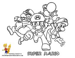 Pictures Of Super Mario At YesColoring