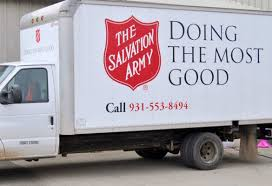 100 Salvation Army Truck Kentucky Donor Gives 13K Gold Coin To