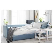 holmsund sleeper sectional 3 seat orrsta light blue ikea