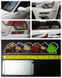 100 Cool Decals For Trucks Super Hero Hitchhike American Hero Car Styling Doodle