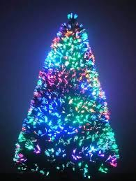 9 Foot Fiber Optic Christmas Tree