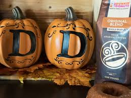 Pumpkin Latte Dunkin Donuts 2017 by Watch Dunkin U0027 Donuts U0027 New Halloween Treats Look Scary Good