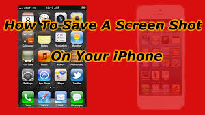 How To Take A Screen Shot The iPhone 5 4s and 4