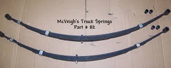 NEW REAR LEAF Springs For 1955-1956 Ford Passenger 5 Leaf - $275.00 ...