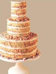 Forget Fondant And Embrace The Trend That Is Naked Wedding Cakes This Relaxed Look Perfect For Those Couples Planning A Vintage Or Rustic Style