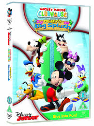 Mickey Mouse Bathroom Accessories Uk by Amazon Com Mickey Mouse Clubhouse Big Splash Region 2 Uk