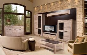 modernes wohnzimmer set massivholz gebleichte eiche