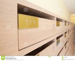 100 Letterbox Design Ideas Wooden Mailbox In Apartment Stock Photo Image Of Locker Resident