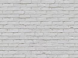 Seamless White Brick Wall Texture Maps