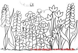 Epic Flower Garden Coloring Page 15 In Print With
