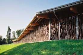 Beautiful Cow Barn In Basel Is Made Of Tree Branches Topped With A ... Willoughby Design Barn Wedding Event Barns Sand Creek Post Beam Pole Designs 3 Popular To Choose From Cool Shed Paardenstal Design Paardenstal Modern Httpwwwgevico Best 25 Plans Ideas On Pinterest Horse Barns Small Architecture Stealth Ideas Contemporary Style Pictures With Apartment Home Stesyllabus Oregon Builders Dc Home Garden Hb100 Plans Studios