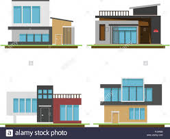 100 Architecture Houses Design Set Of Houses And Modern Houses Design Modern Building And