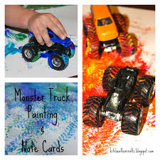 Kitchen Floor Crafts: Monster Truck Painting & Note Cards Kids Youtube Best Videos Monster Trucks Coloring Pages Free Printable Truck Power Wheels Boys Nickelodeon Blaze 6v Battery Bigfoot Big Foot Toddler And The Navy Tshirt Craft So Fun For Kids Very Simple Kid Blogger Inspirational Vehicles Toddlers Auto Racing Legends Bed Style Beds Pinterest Toddler Toys Learn Shapes Of The Trucks While 3d Car Wash Game Children Cartoon Video 2 Cstruction Street