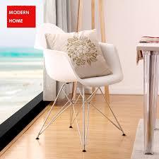 beliebte moderne design esszimmer sessel kunststoff und metall stahl bein esszimmer stuhl moderne mode design home möbel sessel