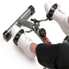 Under Desk Bike Peddler by Portable Exercise Bike Peddler Cycle Office Foot Workout Cardio