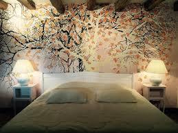 chambre arbre papier peint arbre aux feuilles d or pour la chambre n 5 picture
