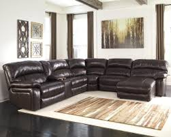 Brown Leather Sectional Sofa With Chaise Lovely Sofas Oversized