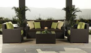 Patio Furniture Under 10000 by All Weather Outdoor Rattan Garden Sofa Set Centerfieldbar Com