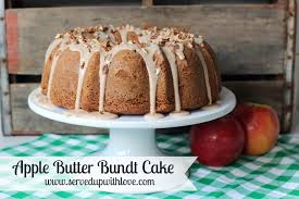 Served Up With Love Apple Butter Bundt Cake
