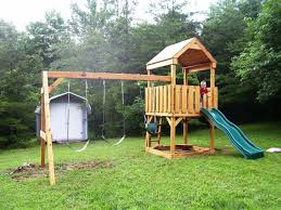 Playset Ideas Backyard Design And Images On Charming Playsets For ... Swing Sets Give The Kids A Playset This Holiday Sears My Tips For Buying And Installing A Set Or Outdoor Skyfort Ii Wooden Playsets Backyard Discovery Amazoncom Prestige All Cedar Wood Costco Gorilla Swings Frontier Walmartcom Creations Adventure Mountain Redwood Installation Interesting Playground Design With And Home Paradise Home Decor Amazing For Billys Ma Ct Ri Nh Me